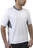 white coolmax tshirt