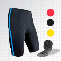 Black P. Bike Short