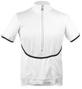 white bent jersey
