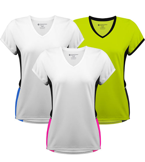 Three colorways to choose from for the Luna Athletic Tee