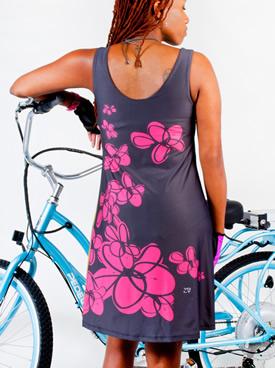 backk of dress