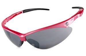 pink sunglasses with smoke lenses