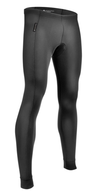 padded compression tights
