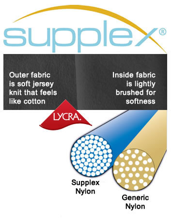 Supplex is luxurious fabric with durability