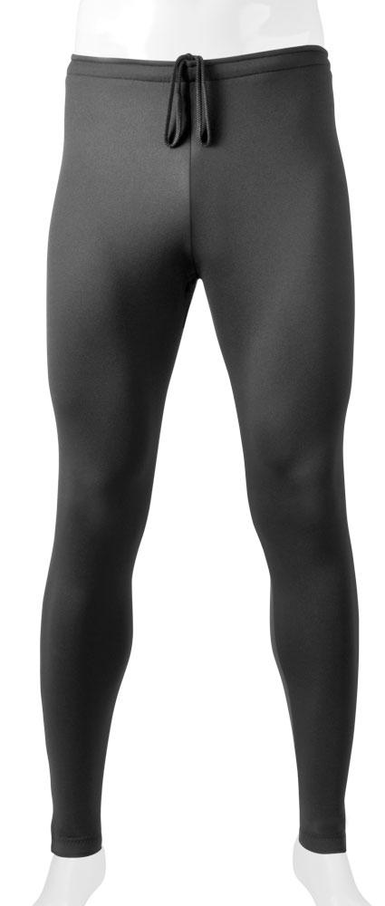 fleece tights with zipper leg