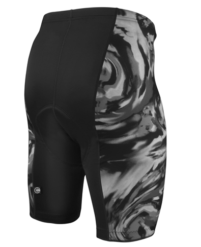 silver pro bicycle shorts
