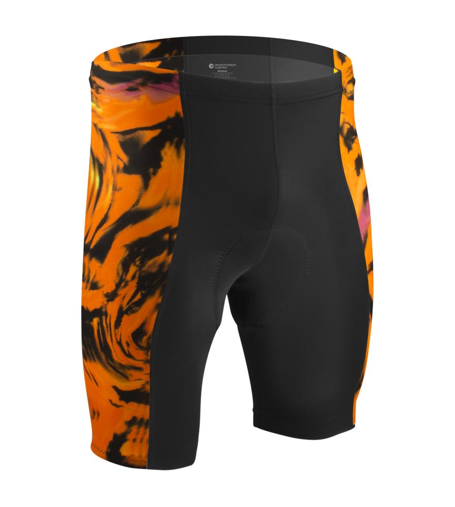 Orange Bike Short
