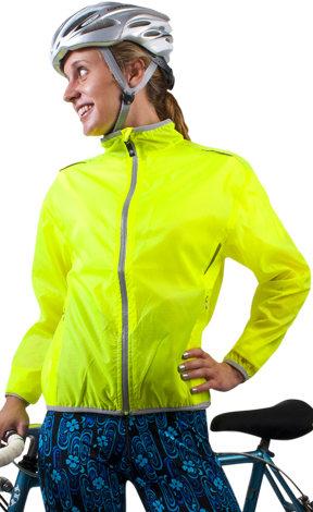 womens high visibility windbreaker