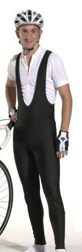 Men's Cycling Bibtights are stretch fleece