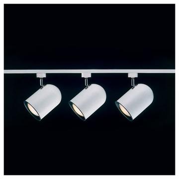 track lighting rails. Basic White Straight Track Lighting Rails