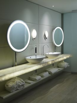 vanity mirrors with built in lights bathroom application