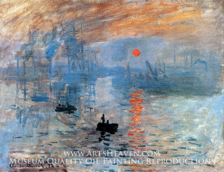 claude monet impression sunrise painting a masterpiece of our  claude monet impression sunrise painting a masterpiece of our time