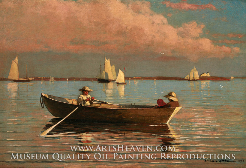 Which Now Hangs In The Toledo Museum Of Art Ohio Other Nature Inspired Paintings Include Gloucester Harbor Song Lark And Cloud Shadows