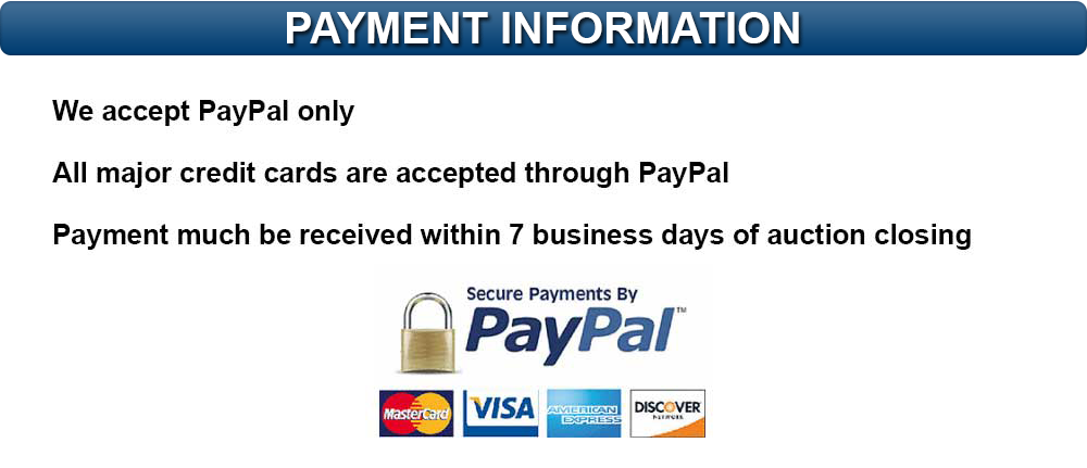 Payment Information Header