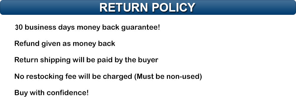 Returns Policy Header