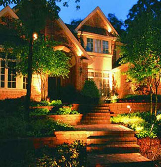 Outdoor residential exterior lighting brilliantoutdoors outdoor residential lighting fixtures mozeypictures Image collections