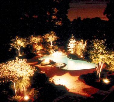 outdoor residential lighting