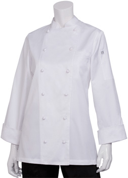 Egyptian Cotton Women's Chef Jacket