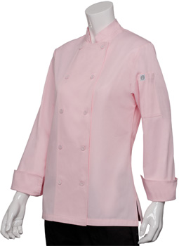 Pink Chef Jacket for Women