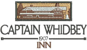 Captain Whidbey Logo Embroidery