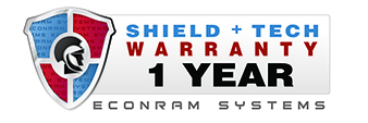 Econram Shield+Tech 1 Year Warranty and Support