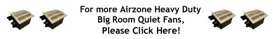 Air Zone Exhaust Ventilation Very Quiet Fans High CFM