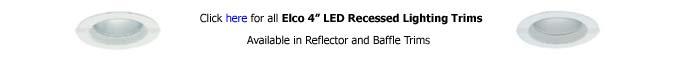 Elco 4 inch Recessed Trim