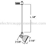 ET534 12 inch extension dimensions