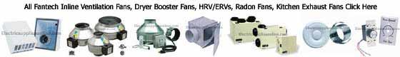 Fantech Inline Ventilation Fans