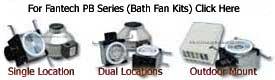 Fantech Premium Bath Inline Ventilation Fan