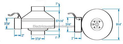 Fantech DBF4XLT diagram