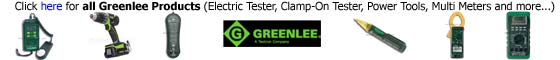 Greenlee Tester Products