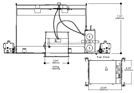 Halo H38icat 3 Inch Line Voltage Regular Ic Air Tight Recessed Lighting Housing