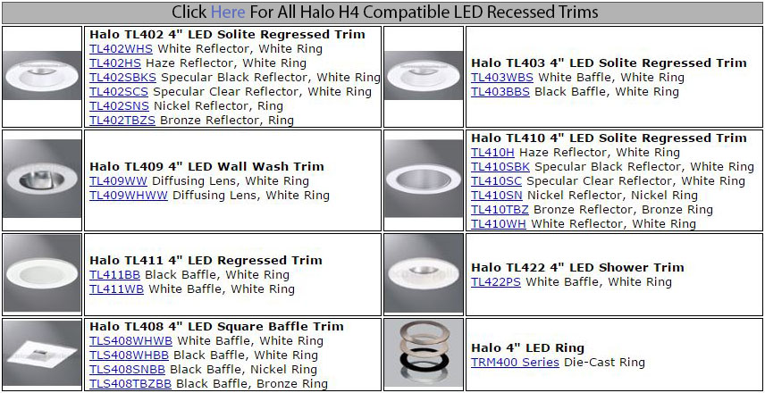 Halo h457rtate010 4 led gen 2 recessed lighting energy saving product description aloadofball Choice Image
