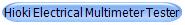 Hioki Electrical Multimeter Tester