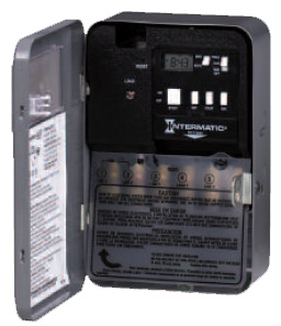 intermatic water heater timer intermatic ei220w electronic auto shutoff 1, 2, 4, & 8 hour  at gsmportal.co