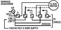 Intermatic T103M wiring diagram