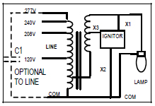 metal halide kit wiring h5 100 w metal halide ballast kit keystone mh 100x q kit quad tap 120 70 watt metal halide ballast wiring diagram at n-0.co