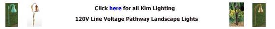Kim Lighting 120V Path Landscape Lighting