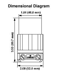leviton 2313 20 amp 125 volt nema l5 20r 2p 3w. Black Bedroom Furniture Sets. Home Design Ideas