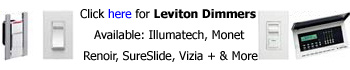 Leviton Dimmers