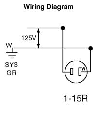 leviton 1306 15 amp 125 volt nema 1 15r 2p 2w snap in. Black Bedroom Furniture Sets. Home Design Ideas