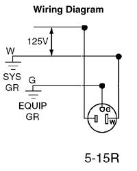 leviton 1373 15 amp 125 volt nema 5 15p 2p 3w snap in rh electricsuppliesonline com Leviton Plug Chart Leviton Color Chart