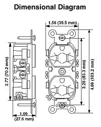 5 15r wiring diagram leviton 5042 15 amp, 125 volt, nema 5-15r, duplex ... cat 5 ethernet wiring diagram