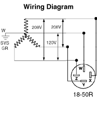 6 50 208 volt wiring diagram 50 amp 208 volt wiring diagram