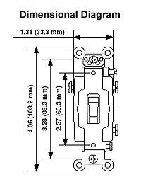 leviton 1223 plc 20 amp 120 volt toggle pilot light. Black Bedroom Furniture Sets. Home Design Ideas