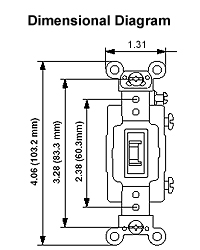 Leviton 3032 2l 30 amp 120277 volt toggle locking double pole dimensional drawing wiring diagram asfbconference2016 Images