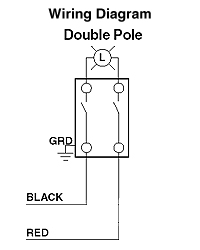leviton csb2 15 15 amp 120 277 volt toggle double pole ac quiet rh electricsuppliesonline com double pole thermostat wiring diagram double pole double throw wiring diagram