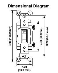 leviton csb2 277 volt  toggle double