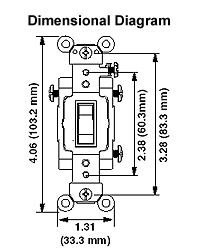 leviton lighted rocker switch wiring diagram leviton csb4-15 15 amp, 120/277 volt, toggle 4-way ac ... lighted rocker switch wiring diagram